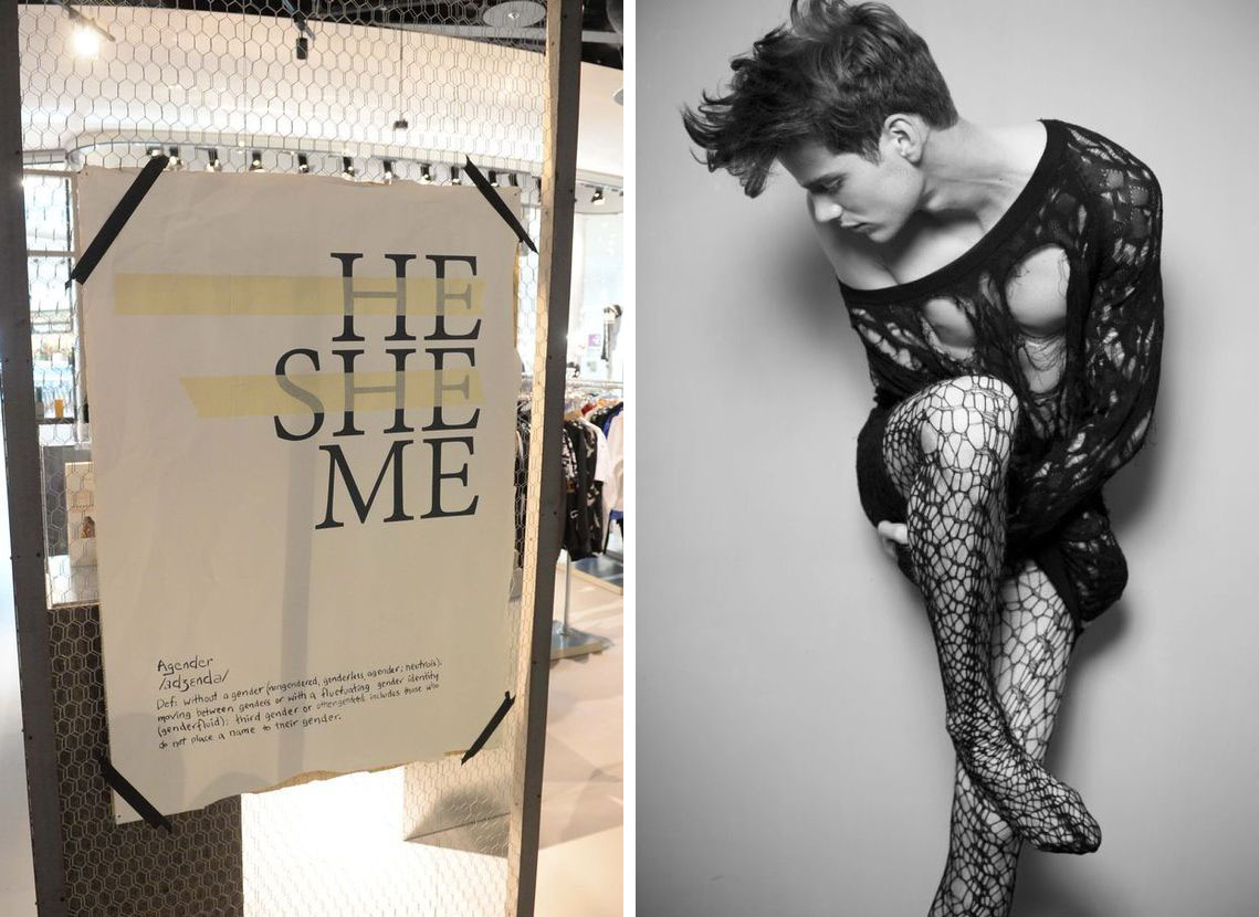 Genderless – There are no rules in fashion, but one: be yourself