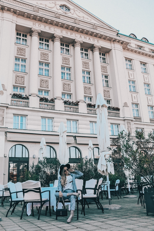The iconic Hotel Esplanade