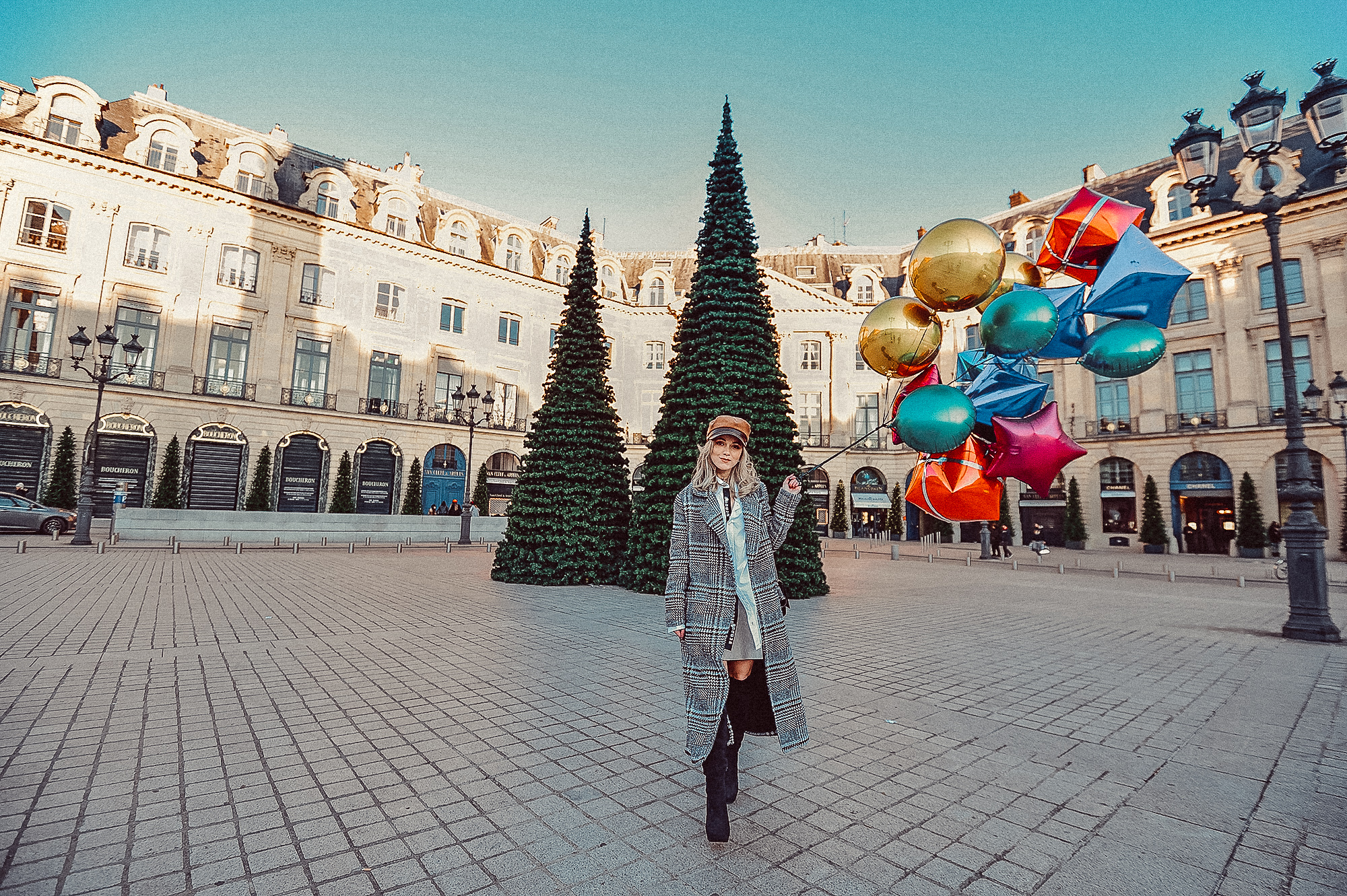 Christmas season in Paris
